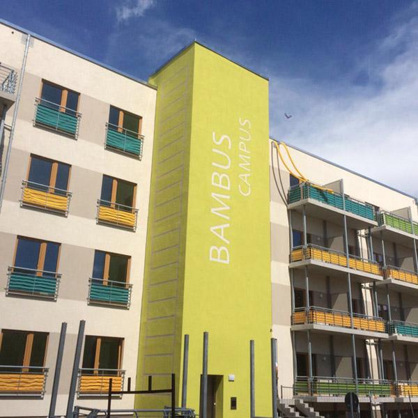 Bambus Campus - Vermietung